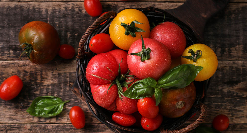 cherry tomatoes for bagels
